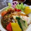 パンプキンハウス - 料理写真:ロコモコ丼