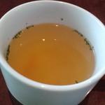Ruhe-f - ランチのスープ
