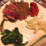 和人良 - 仙台牛の炙り焼き