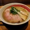麺や凛 - 料理写真:塩らーめん(900円、斜め上から)