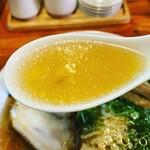 金久右衛門 - 美しいスープ、美味しい♡