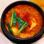 焼肉や漫遊亭 - 純豆腐チゲ ♪