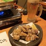 博多もつ鍋 大山 - 私の大好きなミノの唐揚げ♡ミノが大好きなのです\(//∇//)\