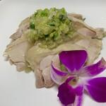 青山麺飯坊 - 葱油鸡