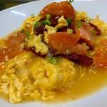 青山麺飯坊 - 蕃茄炒蛋