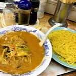 弥生亭 - 味噌つけ麺720円①