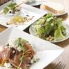パスタムラカミ - 料理写真:全てのパスタに前菜、サラダ、パンが付きます♪