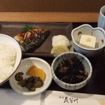 酒房長谷川 - 焼き魚定食