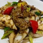 青山麺飯坊 - 豆豉羊肉