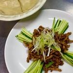 青山麺飯坊 - 京醤肉