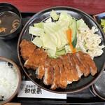 とんかつ和佳葉 - 料理写真:ロースカツ200g