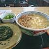 Dondon - 料理写真:モーニング肉 むすび1個 [¥420] / 天かす [¥40]