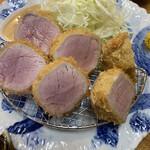 Buta inagaki - 特上ヒレカツ定食(ご飯大)