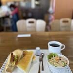陵喫茶 - このワンプレートが500円税込‼︎