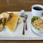 陵喫茶 - サイフォンで淹れたコーヒーがまた美味しい♡