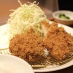 あげ福 - 料理写真:チキンカツコンボ