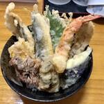 宝 - 海鮮天丼 1200円(税込)