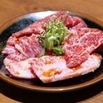 A5山形牛焼肉&食べ放題 くろべこ - 山形牛カルビ