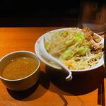 麺屋 轟 - つけ麺L 野菜・ニンニク増し