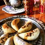 モロッカンダイニング マルメロ - モロッコ菓子とミントティー