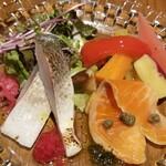 イルポルト - 料理写真:スモークサーモンは美味しかった