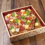 麹蔵 - ひな祭りバラちらし寿司
