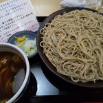 清川 - 料理写真:牡蠣せいろ 麺十割そば変更♪