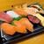小僧寿し - 料理写真:まる得盛サーモン…500円+税