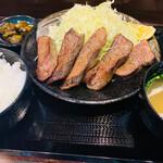 キセキ食堂 - 牛タン定食