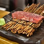 お肉一枚売りの焼肉店 焼肉とどろき - 和牛ハラミ厚切り@690円