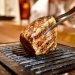 お肉一枚売りの焼肉店 焼肉とどろき - 黒毛和牛 A5 ロースステーキ150g@2,480円:焼いていただけます