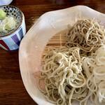みやび庵 - 三種蕎麦きり