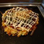 1465059 - お好み焼本舗 お好み焼と焼きそばランチ(なにわミックス焼ハーフ)