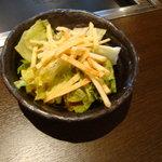 1465061 - お好み焼本舗 お好み焼と焼きそばランチ(ランチサラダ)