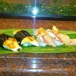 大天寿司 - 蒸し穴子とかんぱち