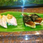 大天寿司 - 炙りトロと焼き穴子