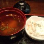 鉄板Diner 鐵 - 味噌汁&マカロニ