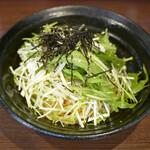 146502588 - 博多かねふく明太子と水菜のペペロンチーノ ¥900