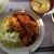 サ・ラ・マンジェ - 料理写真:またしても、チキンカツの魔の手にやられる・・・