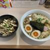 大木 - 料理写真:ワンタンメン 味玉 チャーシュー丼