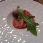 RISTORANTE REGA - サラミ2種類