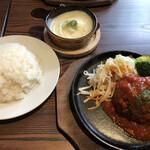 Grillマッシュ - トマトソース