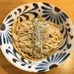 麺屋 湊 - 料理写真:昆布水つけ麺の麺