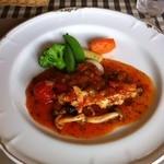 パッソノヴィータ - 鶏のトマト煮込み