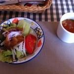 パッソノヴィータ - サラダ、スープ