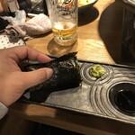 近江焼肉ホルモン すだく - 手巻き肉寿司