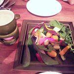 14652148 - 有機野菜のバーニャカウダ