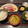 鮭ちゃづけ - 料理写真:お刺身定食