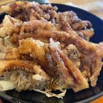東川楽座 笹一 - イカゲソ丼