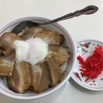 くるまやラーメン - 料理写真:チャーシュー丼